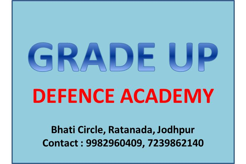 Best Defence Exams Competition Classes in Jodhpur - Jervice